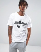 Jordan Nike X Space Jam Logo T-Shirt In Blue 823718-100