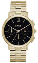 DKNY Willoughby Gold Stainless Steel Watch