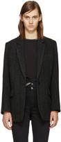 Etoile Isabel Marant Black Halden Coat