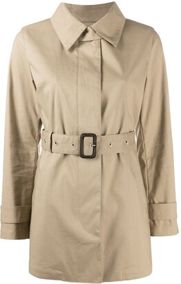 MACKINTOSH short Roslin belted trench coat