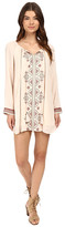 Brigitte Bailey Sophia Long Sleeve Dress with Tassels