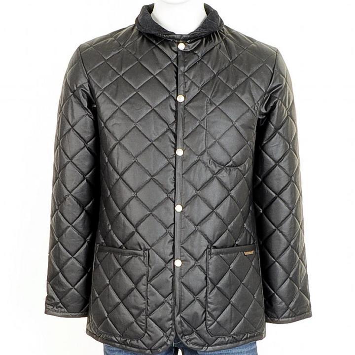 Lavenham Halesworth RC Wax Jacket Black