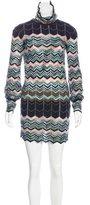 Missoni Wool Cutout-Accented Dress