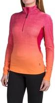 Mountain Force Catalina Shirt - Zip Neck, Long Sleeve (For Women)