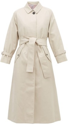 Thom Browne Belted Twill Trench Coat - Beige