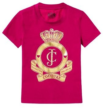 Juicy Couture Girls JC Cameo Tee