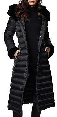 Dawn Levy Lexie Fur Trim Down Coat
