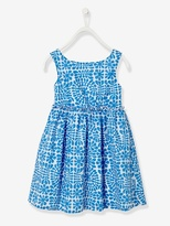 Vertbaudet Girls Printed Sleeveless Dress