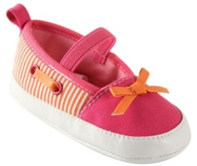Luvable Friends Baby Girls Crib Shoes