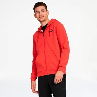 Puma Essentials+ Men's Fleece Hooded Jacket