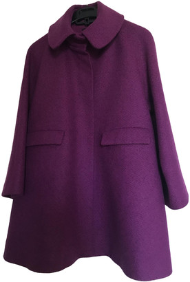 Cos Purple Wool Coats