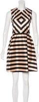 Jill Stuart Striped A-Line Dress