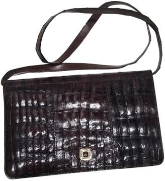 Reclaimed Vintage Brown Crocodile Handbags