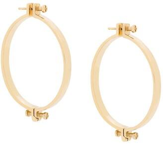 Annelise Michelson medium Alpha earrings
