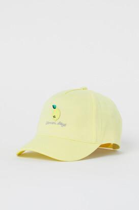 H&M Appliqued twill cap