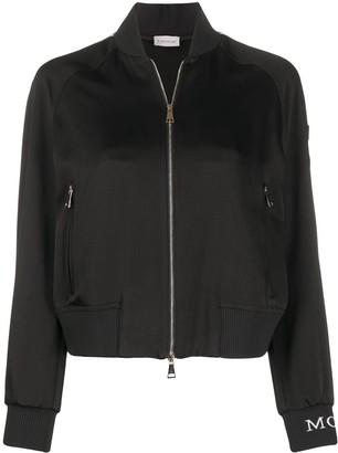 Moncler Stripe Detail Bomber Jacket
