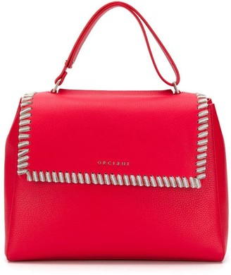 Orciani Chain Embellished Tote Bag