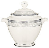Noritake Meridian Cirque Filigree Platinum Sugar Bowl with Lid
