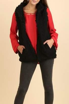 Umgee USA Reversible Sweater Vest