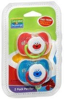Sesame Street Sesame Beginnings - 2 Pack Pacifier (0-6 Months)