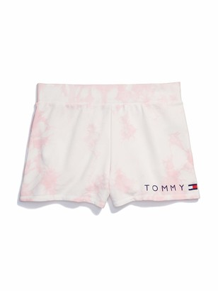Tommy Hilfiger Women's Adaptive Logo Short with Elastic Waist