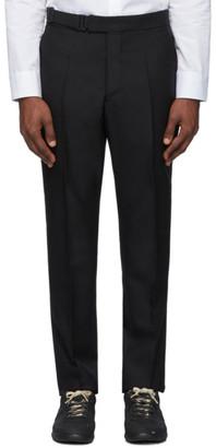 Maison Margiela Black Canvas Trousers