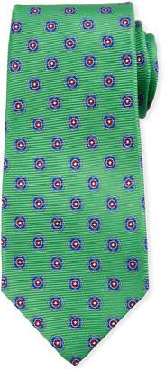 Kiton Round Medallion Silk Tie