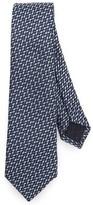 Z Zegna Multi-Textured Tie