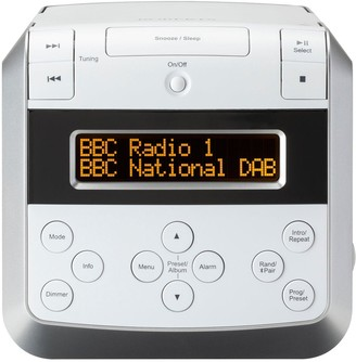 Roberts Sound48W Dab/Dab+/Fm Stereo Clock Radio With Cd, Bluetooth, Usb Playback/Charging