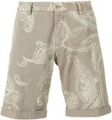Etro paisley print bermuda shorts - men - Cotton/Spandex/Elastane - 48