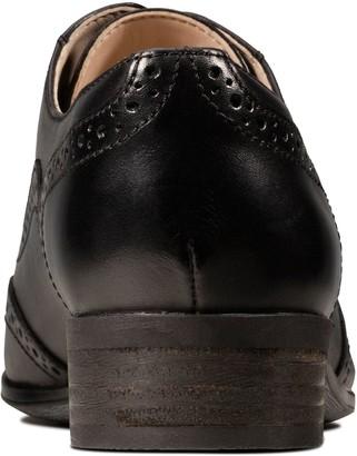 Clarks Hamble Oak Leather Brogues - Black