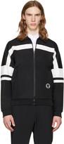 McQ by Alexander McQueen Black 70s Zip-up Sweater
