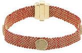 Carolina Bucci 18 Carat Gold and Silk Woven Bracelet