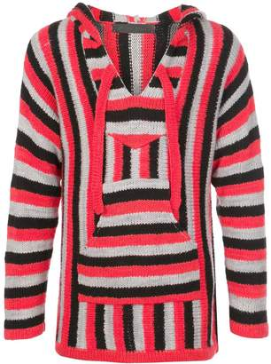 The Elder Statesman Baja stripe knit jumper