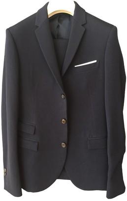 Neil Barrett Navy Wool Suits