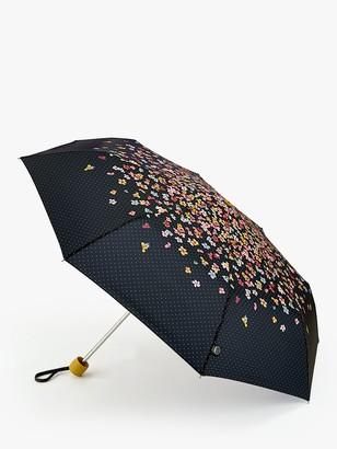 Joules Cascading Floral Print Umbrella, Multi