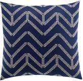 Nautica Brindley Chevron Embroidered Throw Pillow