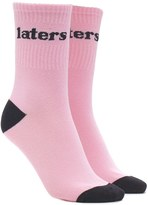 Forever 21 Laters Graphic Crew Socks