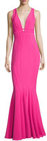 Zac Posen Ariana Sleeveless Ponte Bodycon Gown, Pink
