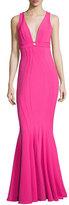Zac Posen Ariana Sleeveless Ponte Bodycon Gown, Pink