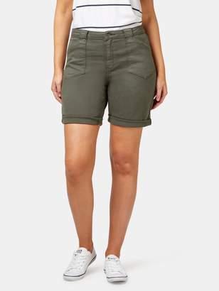Jeanswest Helen Patch Pocket Curve Knee Length Short