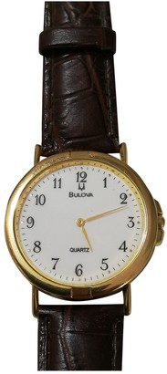 Bulova Gold Gold plated Watches