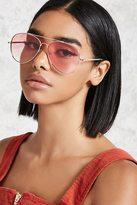 Forever 21 Gradient Aviator Sunglasses