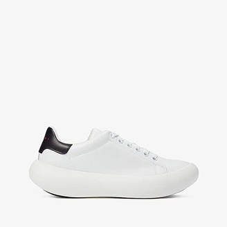 Marni Round Sole Classic Tennis Sneaker (Lily White/Black) Men's Shoes