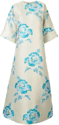 Bambah Zeynab floral print dress