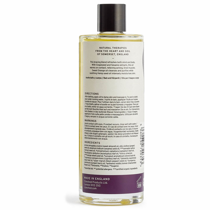 Thumbnail for your product : Cowshed AWAKE Bracing Bath & Body Oil 100ml