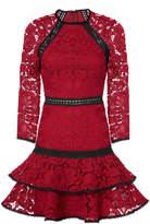 Alexis Kharis Lace Mini Dress