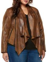 Dex Plus Coated Open Front Jacket
