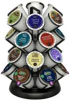 Java Concepts Deluxe Coffee Carousel Pod Holder for K-cups - Black