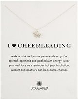 Dogeared I Heart Cheerleading Necklace Megaphone, 18""